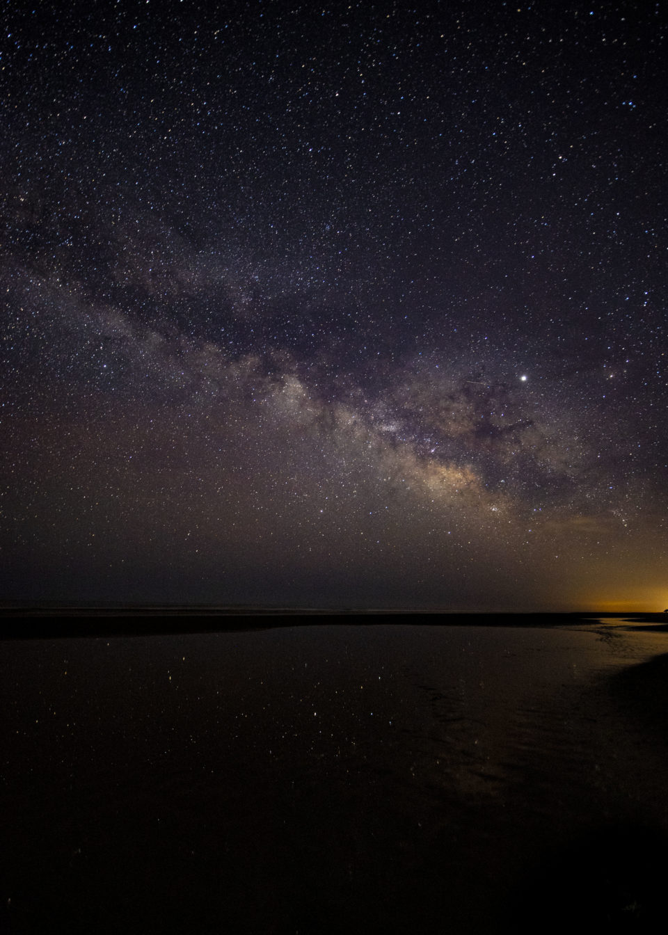 milky way, false cape state park, misty saves the day, stars in virginia beach