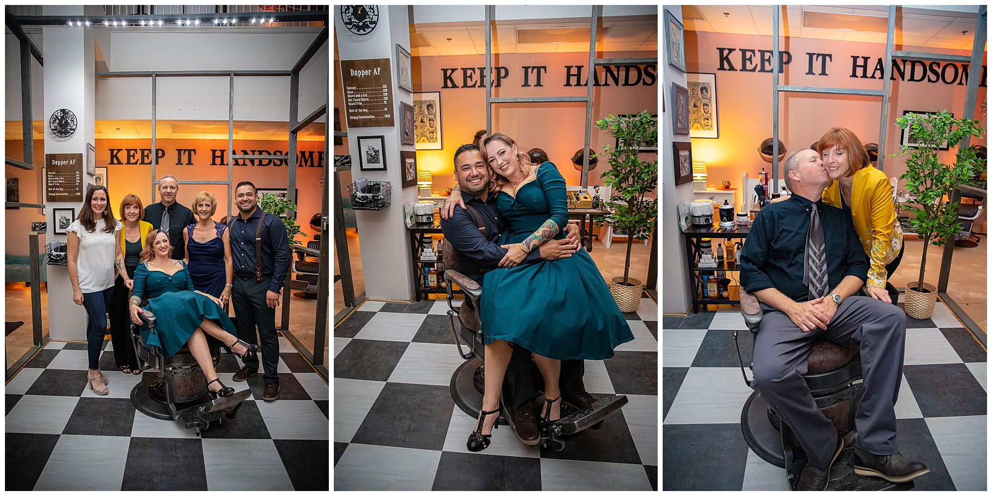 darling and dapper studio, misty saves the day, hair and makeup virginia beach